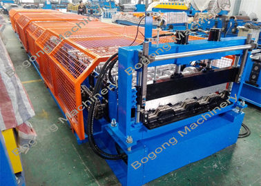 Floor Decking / Metal Roofing Roll Former, Sheet Roll Forming Machine