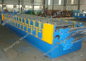 75mm Shaft Double Layer Mesin Roll Forming Internet Kecepatan 8500 * 1650 * 1850mm